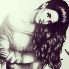 Lana del Rey drawing from kristina Webb