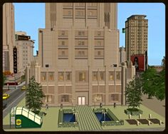 SIMULATED SITUATIONS - Give Me Space - Sims 3 'Late Night' Metropolitan Buildings, Part Three
