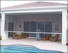 ClearView retractable screen solution