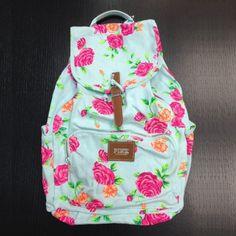 Victoria Secret Backpack | pink backpack on Tumblr