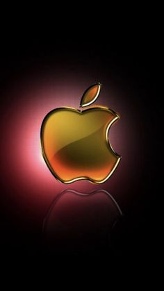 Free shiny apple logos wallpapers Size: wallpaper for Apple IPhone. Live Wallpaper Iphone 7, Iphone Wallpaper Landscape, Iphone Homescreen Wallpaper, Black Phone Wallpaper, Phone Screen Wallpaper, Iphone Background Wallpaper, Cellphone Wallpaper, Apple Images, Apple Background