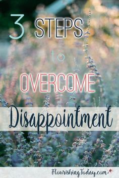 Steps to Overcome Disappointments   Fear of Public Speaking   Humiliation   Overcoming Fears   Moving Past Hurts   Relationships