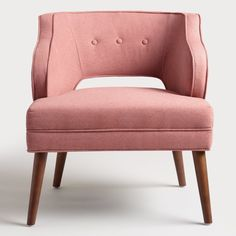 Pin for Later: 17 Pieces From World Market's Fall 2016 Collection That Will Blow You Away  Rose Pink Tyley Chair ($260)