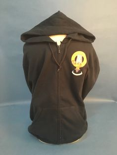 Cotton zip hooded sw