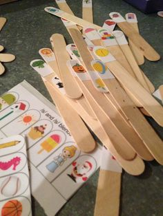 Throw away your artic cards! Your kiddos will love articulation sticks!