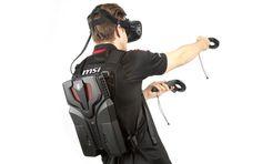 Détails et images du PC sac à dos MSI VR One pour le HTC Vive
