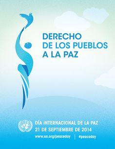 Cartel del Día Internacional de la Paz de 2014