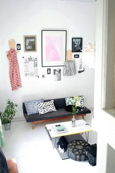 A Bright & Quirky 430 Square Foot Helsinki Loft