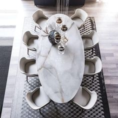 Dining Room Design, Dining Room Table, Dining Chairs, Oval Dinning Table, Luxury Dinning Room, Granite Dining Table, Dining Area, Dining Furniture, Luxury Furniture