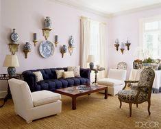 Aerin Lauder's Hamptons Living Room