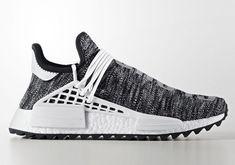 5b3c524b00c1 2018 Shop Pharrell x adidas NMD Hu Trail Core Black Footwear White  Basketball Shoe For Sale