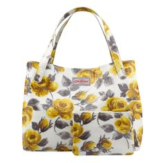 Painted Rose Mid-size Grab Tote | Carry All Bags | CathKidston