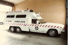 South Australian Ambulance. Car 177 Hindmarsh Depot