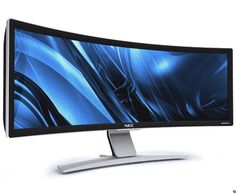 (and by need I mean want) NEC CRV 43  - Curved widescreen monitor