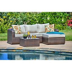 2-Piece Louisa Patio Seating Group