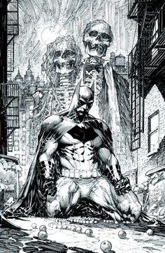 O Batman de Marc Silvestri.