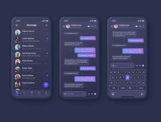 Tango Message UI Kit Design your next messaging, chatting or calling app. Tango Message UI Kit Design your next messaging, chatting or calling app. Login Page Design, App Ui Design, Mobile Chat App, Whatsapp Theme, Im App, Themes App, Android App Design, Mobile Ui Design, Application Design