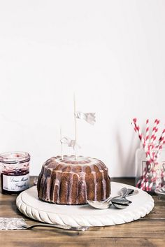 white chocolate grappa cake