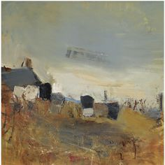 Cottage and Beehives by Joan Eardley | issyparis