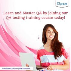 Become a master in QA with QC More's advanced QA testing training course. Learn more here https://goo.gl/RR1s7D. For Enquiry - +919061645457