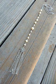 Pearls and tassel