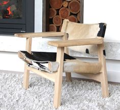 Spanish Chair (Natural with soap wash finish)
