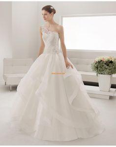 Princess-Stil 3/4 Arm Blumen Brautkleider 2015
