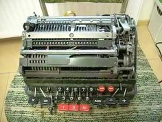 What happens when you divide by zero on a mechanical calculator