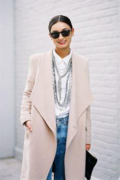 Vanessa Jackman New York Fashion Week AW 2014....Gabriela #necklace #jewelry #howtowear