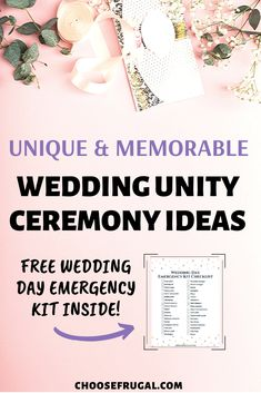These creative wedding ceremony ideas are perfect for budget weddings! Get inspired by wedding unity ideas on a budget that work with any type, such as ceremony ideas in a church or non religious wedd Non Religious Wedding Ceremony, Unity Ceremony, Wedding Decorations Pictures, Simple Wedding Decorations, Wedding Reception On A Budget, Wedding Tips, Diy Wedding Projects, Autumn Wedding, Purple Wedding