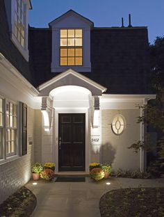 Front Door + Anthony Wilder Design/Build Inc. Architecture Building Design, Architecture Details, Dream Home Design, House Design, Exterior Design, Interior And Exterior, Interior Design And Construction, Exterior Front Doors, Elegant Homes