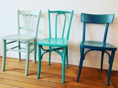 Chaises et camaïeu de verts by  lemon et grenadine  Ig : lemonetgrenadine