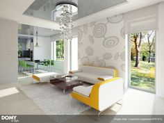 Aster idealny parterowy dom z tarasem dla 4-osobowej rodziny - Jesteśmy AUTOREM - DOMY w Stylu Aster, Interior S, Divider, Furniture, Home Decor, Homemade Home Decor, Home Furnishings, Decoration Home, Arredamento