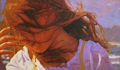 """Changing Wind, 24"""" X 40"""", oil on canvas, original art is sold"""