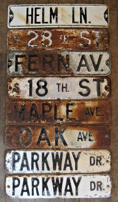 Mid-century Antique Michigan 1952 License Plate Garage Sign