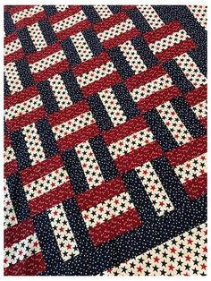 Jellyroll Quilts, Rag Quilt, Scrappy Quilts, Easy Quilts, Strip Quilts, Blue Quilts, Quilt Blocks, Colchas Quilting, Quilting Designs