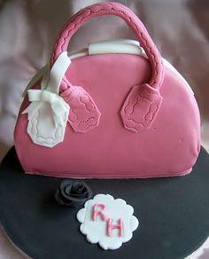 Good Food, Shared: How to Make a Handbag Cake