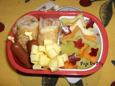 Breakfast for Lunch (Kindergarten Bento #15)