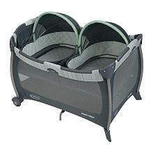 Graco Pack n Play Play Yard with Twins Bassinet  Mason