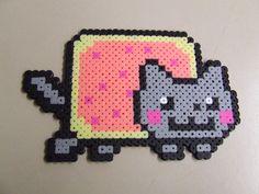 Poptart Nyan Cat Pixel Art Bead Sprite by MelParadise on Etsy