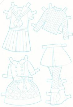 Paper Dolls~Little DressMaker Lucy - Bonnie Jones - Picasa Web Albums