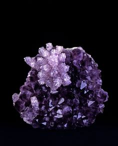 A gorgeous Amethyst Quartz.  Rio Grande do Sul,  Brazil.  The collection of minerals | Live from the Labs of UPMC