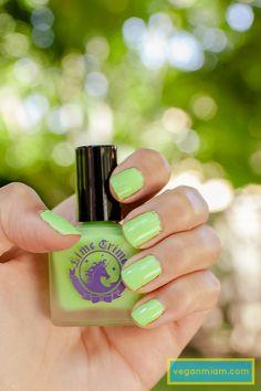 lime crime nail polish