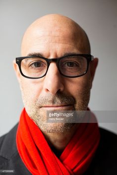 Actor Stanley Tucci is photographed for the Sunday Times magazine on January 2015 in London, England. Bald Men Style, Stanley Tucci, Nick Wooster, The Lovely Bones, Shiva Photos, Mark Strong, Best Supporting Actor, The Sunday Times, Face Men