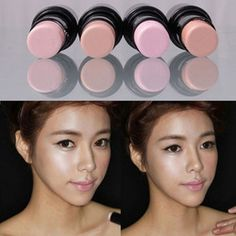 4 Colors Highlighter Stick Shimmer Light Powder Cream Waterproof Cosmetic Makeup  HM36