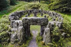 Mystical:  #Druid's #Temple, Ripon, North Yorkshire, England; photo by George Hodan, via National Geographic Your Shot.