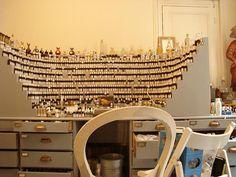 retailsauce:  Perfume organ at Annick Goutal via...