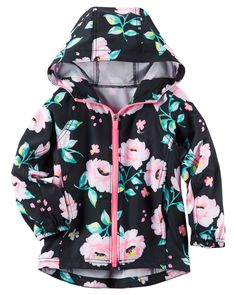 Toddler Girl Active Floral Jacket from Carters.com. Shop clothing & accessories from a trusted name in kids, toddlers, and baby clothes.