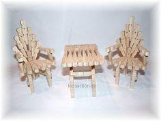 schaukelstuhl stuhl bestalarbeit basteln klammern. Black Bedroom Furniture Sets. Home Design Ideas