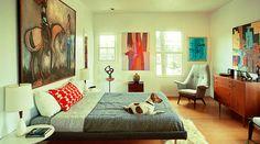 Znalezione obrazy dla zapytania interior design 50's
